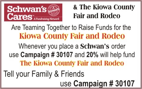 Schwan's Cares and Kiowa County Fair & Rodeo